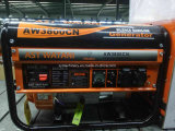 alambre de cobre del motor de 2kw 6.5HP, generador portable de la gasolina del comienzo del retroceso para la venta