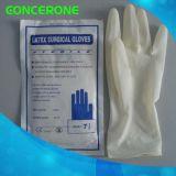 의학 유액 분말 자유로운 외과 장갑 (LG1065F)