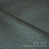 Tessuto di cuoio bronzante decorativo di Nubuck della pelle scamosciata per il sofà