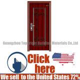 Metálica de acero inoxidable de seguridad de la entrada de la puerta de hierro Bullet-Proof
