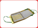 Caisse d'emballage orange de cadeau de papier de forme ronde de la couleur Jy-GB11