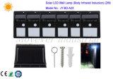 2W Sonnenenergie induktive LED Walllight IP65