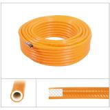농업 PVC 고압 살포 호스 6.5mm는 고압적인 살포 호스를 땋았다
