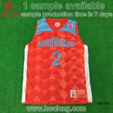 Sublimación Sportsear de la alta calidad del baloncesto Jersey