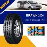 China-populärer Muster Halb-Stahl Radialauto-Reifen (195r14c)