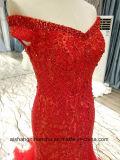 女性のテュルのV首のセクシーな夕方党プロムの服