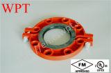 FM UL Classe150 PN16 Fonte ductile à collet fendu rainuré