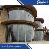 Proceso del vidrio Tempered doblado para el edificio