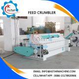 Dois roletes de alimentação animal Triturador Crumbler