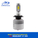 Linterna principal auto 6500K de la MAZORCA S2 H7 LED de la luz 72W 8000lm Canbus Bridgelux del nuevo diseño LED