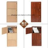 Cabina de almacenaje de madera de la oficina del dormitorio de la capacidad grande