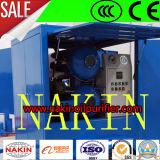 Mobile de filtration d'huile de transformateur de haute précision de la machine avec ce ISO