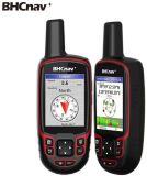 Wearable gPS-Navigator die Militaire Nava F78 Handbediende GPS onderzoeken Gelijkend op Garmin Gpsmap 64s