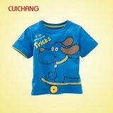 T-shirts confortables de sublimation de colorant, T-shirt de bonne qualité, T-shirt fait sur commande de Crewneck
