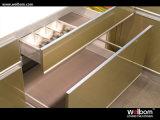 Module de cuisine à haute brillance des meilleurs prix de vente d'usine de Welbom