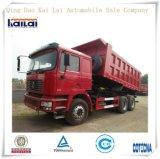 Shacman F2000 6X4 10 바퀴 덤프 트럭 팁 주는 사람 트럭
