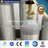Tanque de alumínio de alta pressão do CO2
