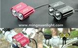 재충전용 다기능 알루미늄 LED 자전거 빛 (YS-2002)