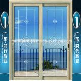 Aluminiumlegierung-Schiebetür für Haus-Innendekoration