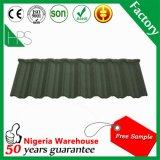 Afrika-heißer Verkaufs-lange Überspannungs-Dach-Baumaterial-Kerala-überzogene Metalldach-Steinfliese