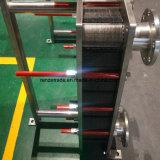 Vollmilch-abkühlende Platten-Kühlvorrichtung-Dichtung-Platten-Wärmetauscher-gesundheitlicher Platten-Wärmetauscher