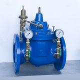 Válvula de redução de pressão de revestimento de epoxi de ferro dúctil