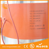 Calefator plástico 55gl 1800W do tambor do metal do biodiesel do petróleo do calefator do cilindro da faixa do silicone