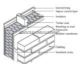Abrigo permeable de impermeabilización de la casa del vapor de la membrana de Playfly (F-100)