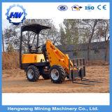 La maquinaria de construcción de 5 toneladas de cargadora de ruedas