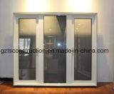 Het Openslaand raam van het Aluminium van de Deklaag van het poeder voor Nieuw Zeeland