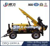 DTH hydraulische Dfq-100W Felsen-Ölplattform-Maschine