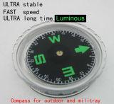 Mucho tiempo militar Ultra luminosa y exterior de la brújula #-47