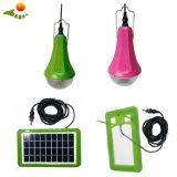 Набор освещения горячего набора панели солнечных батарей дома низкой стоимости 12V портативного солнечный с 4 шариками