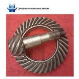 Il circuito di collegamento degli ingranaggi conici di spirale del migliore venditore BS6128 8/35 innesta gli ingranaggi conici elicoidali differenziali automatici