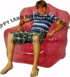 かわいく小さいPVC子供の膨脹可能なソファーのシート