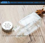 Glasflaschen-Kraut-Gewürz-Pfeffer-Salz-Schüttel-Apparat der würze-100ml