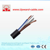 Cable flexible de la base del PVC Insulated&Sheathed 6