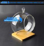 Hängender Glasflitter-Tee-Licht-Kerze-Kristallhalter