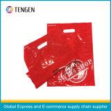 Delicate Design PE Plastic Handle Sacs à provisions