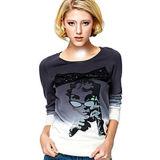 여자 (W070)를 위한 형식 니스 면 승화에 의하여 인쇄되는 t-셔츠