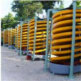 Calha de espiral do separador de gravidade para o Concentrador de minério de crómio planta de lavagem