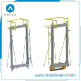 Roping 1:1, рамка автомобиля лифта пассажира 2:1, лифт разделяет (OS44)