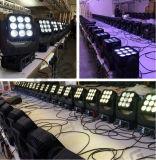 工場卸し売りディスコの段階9LEDs 10W RGBW 4in1 LEDの点の移動ヘッドライト