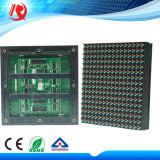 Al aire libre de alto rendimiento de 16X16 a todo color de la pantalla LED DIP P10 del módulo de pantalla LED