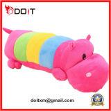 Het kleurrijke Stuk speelgoed van de Pluche van de Jonge geitjes van de Baby Hippo Zachte