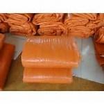 брезент/брезент HDPE Weave 8X8 изолированные крышкой с одеялом пены конкретным леча