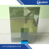 4mm 청동색 또는 회색 파란 또는 녹색 사려깊은 유리, 건축 유리