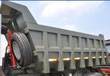 Het u-Type van Sinotruk HOWO 6X4 de Vrachtwagen van de Kipper van de Mijnbouw van het Lichaam voor Verkoop
