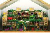 2017人の子供の娯楽商業屋内運動場のジャングルの体操
