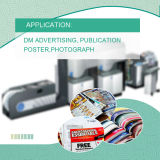 De Synthetische Etiketten van het Document van de Foto BOPP voor de Digitale Printer van de Indigo van PK